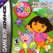 Dora the Explorer Super Star Adventures voor Nintendo GBA