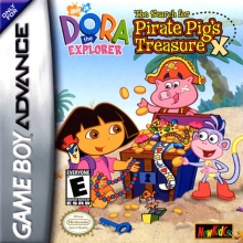 Dora the Explorer The Search for Pirate Pigs Treasure voor Nintendo GBA
