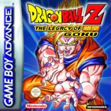 Dragon Ball Z The Legacy of Goku voor Nintendo GBA