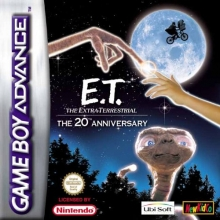 ET The Extra-Terrestrial The 20th Anniversary voor Nintendo GBA