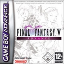 Final Fantasy V Advance voor Nintendo GBA