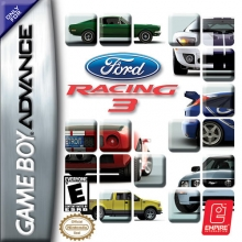 Ford Racing 3 voor Nintendo GBA