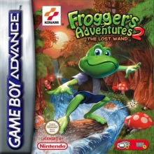 Froggers Adventures 2 The Lost Wand voor Nintendo GBA