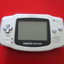 Game Boy Advance Platinum - Nette Staat voor Nintendo GBA