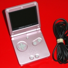 Game Boy Advance SP AGS-101 Roze - Mooi voor Nintendo Wii