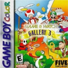 /Game and Watch Gallery 3 voor Nintendo GBA