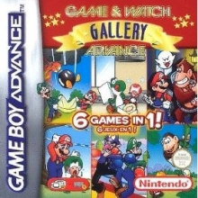Game and Watch Gallery Advance voor Nintendo GBA