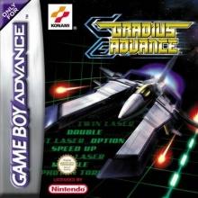 Gradius Advance voor Nintendo GBA