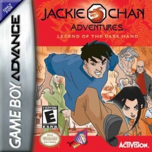 Jackie Chan Adventures Legend of the Dark Hand voor Nintendo GBA