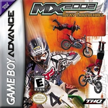 MX 2002 Featuring Ricky Carmichael voor Nintendo GBA