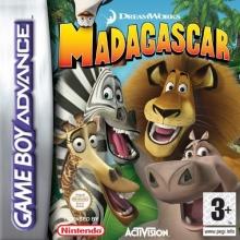 Madagascar voor Nintendo GBA