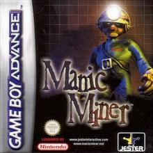 Manic Miner voor Nintendo GBA