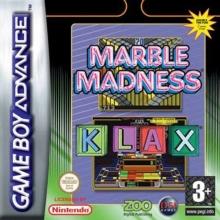 Marble Madness  Klax voor Nintendo GBA