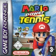 Mario Power Tennis voor Nintendo GBA