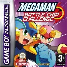 Mega Man Battle Chip Challenge voor Nintendo GBA