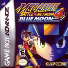 Mega Man Battle Network 4 Blue Moon voor Nintendo GBA