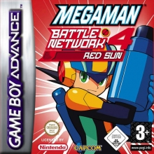 Mega Man Battle Network 4 Red Sun voor Nintendo GBA