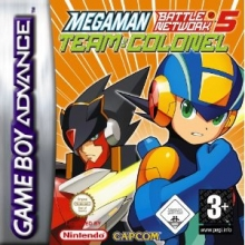 Mega Man Battle Network 5 Team Colonel voor Nintendo GBA