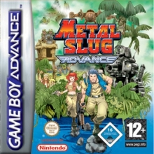 Metal Slug Advance voor Nintendo GBA