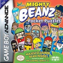 Mighty Beanz Pocket Puzzles voor Nintendo GBA