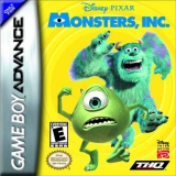 Monsters en Co voor Nintendo GBA