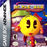 Ms Pac-Man Maze Madness voor Nintendo GBA