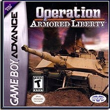 Operation Armored Liberty Compleet voor Nintendo GBA