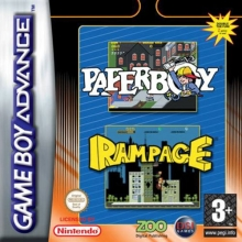 Paperboy and Rampage voor Nintendo GBA