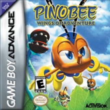 Pinobee Wings of Adventure voor Nintendo GBA