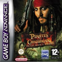 Pirates of the Caribbean Dead Mans Chest voor Nintendo GBA