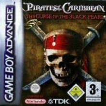 Pirates of the Caribbean The Curse of the Black Pearl Compleet voor Nintendo GBA