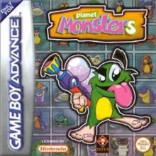 Planet Monsters voor Nintendo GBA