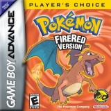 Pokémon FireRed Version Players Choice Als Nieuw voor Nintendo GBA