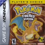 /Pokémon FireRed Version Players Choice Compleet voor Nintendo GBA