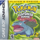 /Pokémon LeafGreen Version Players Choice Compleet voor Nintendo GBA