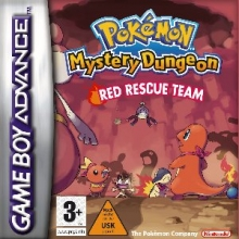 Pokemon Mystery Dungeon Red Rescue Team voor Nintendo GBA