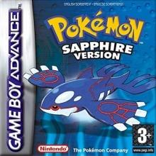 Pokémon Sapphire Version voor Nintendo GBA