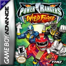 Power Rangers Wild Force voor Nintendo GBA