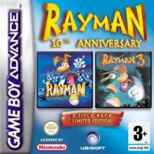 Rayman 10th Anniversary voor Nintendo GBA
