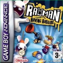 Rayman Raving Rabbids voor Nintendo GBA