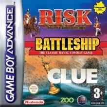 Risk  Battleship  Clue voor Nintendo GBA