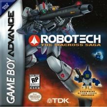 Robotech The Macross Saga voor Nintendo GBA