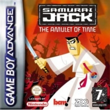 Samurai Jack The Amulet of Time voor Nintendo GBA