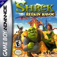 Shrek: Reekin' Havoc voor Nintendo GBA