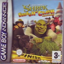 Shrek Smash n Crash Racing voor Nintendo GBA