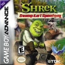Shrek Swamp Kart Speedway Als Nieuw voor Nintendo GBA