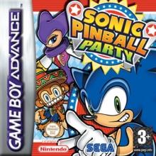 Sonic Pinball Party voor Nintendo GBA
