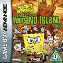 SpongeBob and Friends Battle for Volcano Island Compleet voor Nintendo GBA
