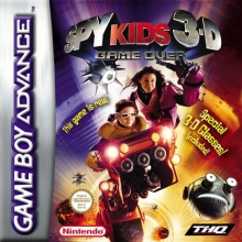 Spy Kids 3-D Game Over voor Nintendo GBA