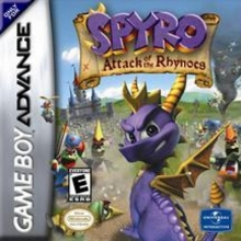 Spyro Attack of the Rhynocs voor Nintendo GBA